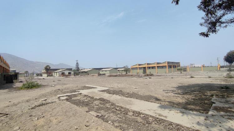 Alquiler de terreno industrial t4 3197mts, huachipa