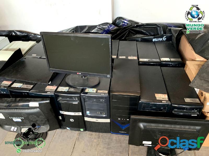Se compra chatarra de computadoras