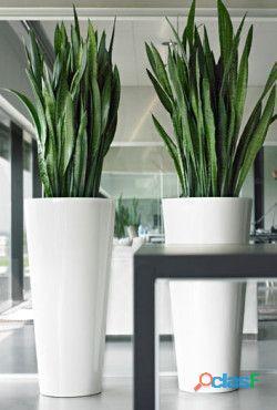 macetas decorativas, macetas decorativas para interiores, macetas de fibra de vidrio 17