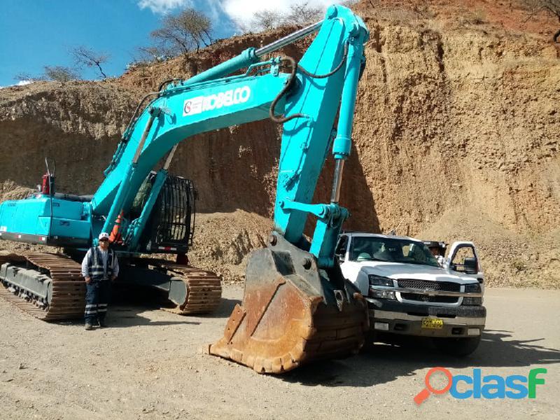Vendo excavadora kobelco sk 350lc 2012.