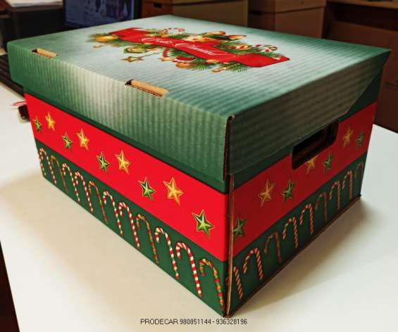 Caja navidad en lima