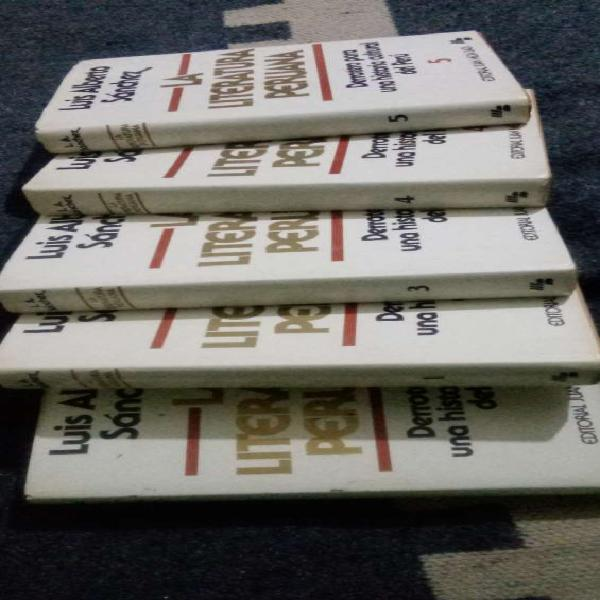 La literatura peruana en lima