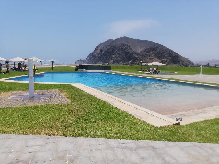 Venta de terreno de playa en condominio costa del campo san