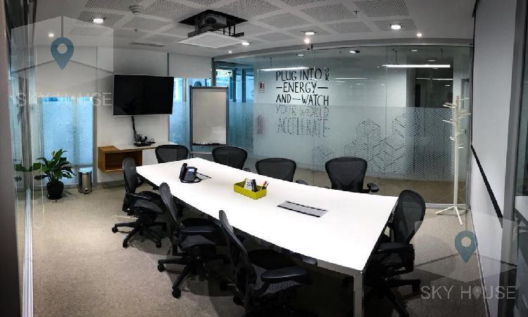 Exclusivas oficinas equipadas jorge basadre **servicios