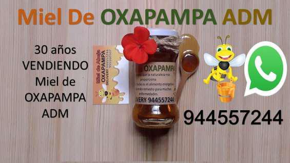 Miel de oxapampa 38 soles en lima