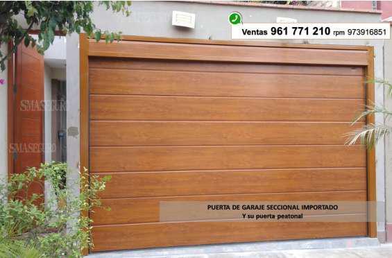 Puertas de garajes surco en lima