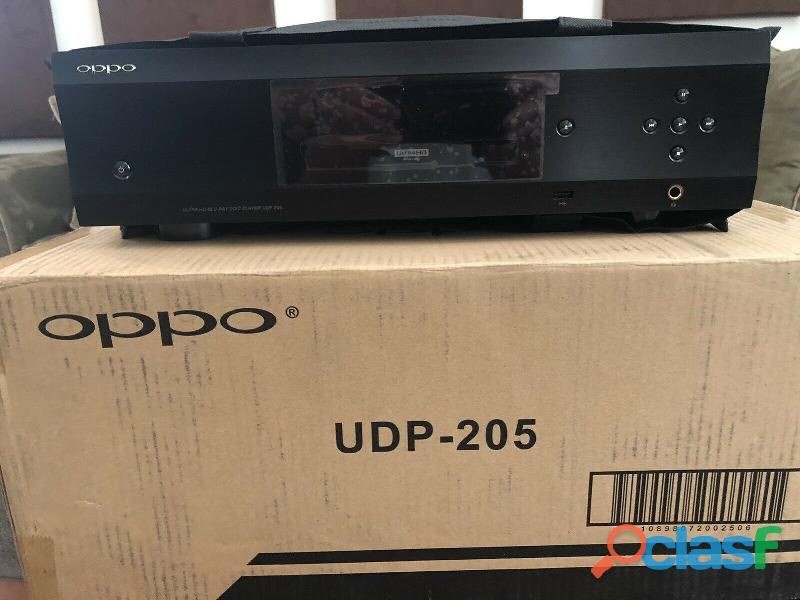 Am selling My Used OPPO UDP 205 4k Blu Ray player