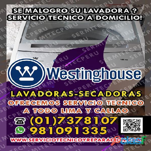 En rimac  reparación de lavadoras westinghouse > 981091335