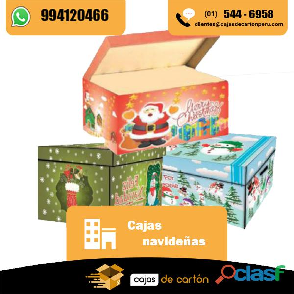 Cajas para navidad en venta