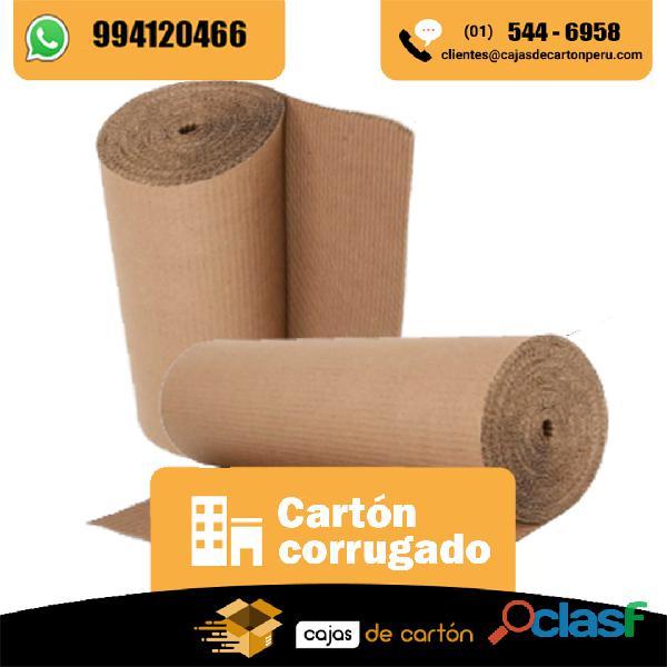 Venta de carton corrugado