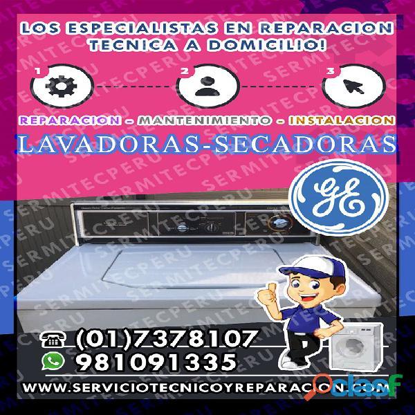 7378107| servicio de secadoras general electric> en san miguel
