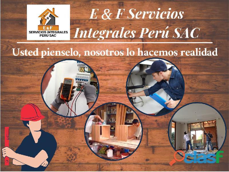 Servicios Integrales Carpintería, gasfitería, pintura 16