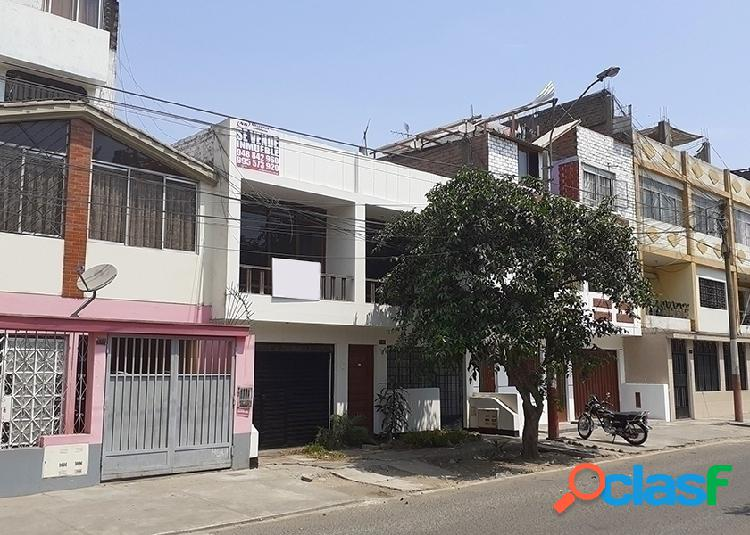 Casa en venta 2 pisos 160 m2 urb zarate - san juan de lurigancho