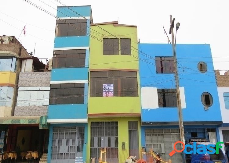 Casa en venta 4 pisos 89 m2 urb la capitana - lurigancho