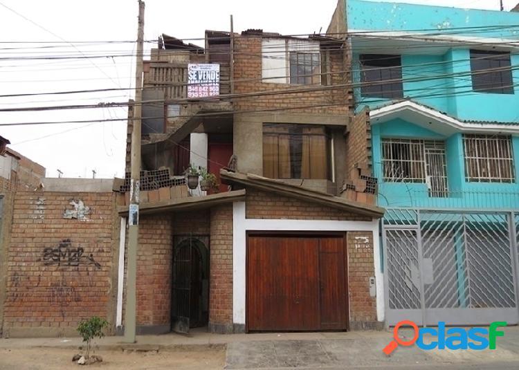 Casa en venta 3 pisos 165 m2 urb portales javier prado - ate