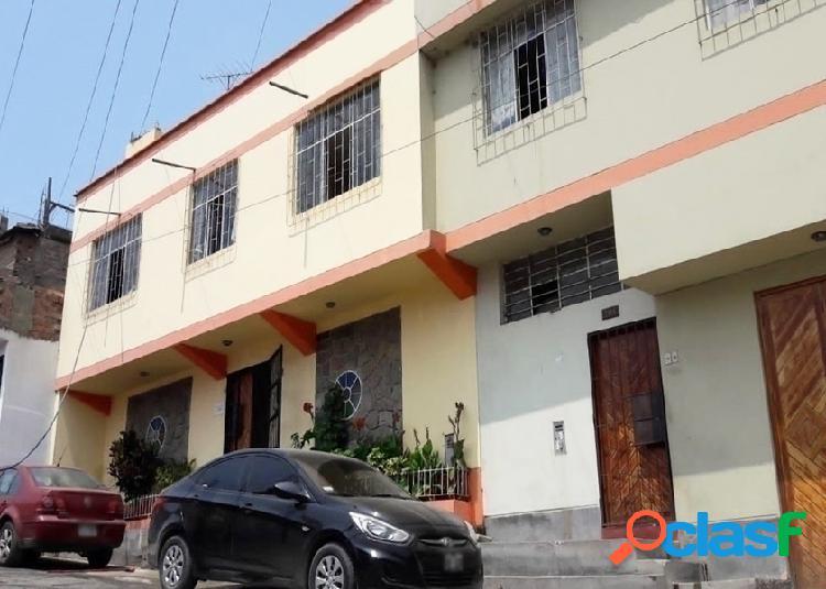 Casa en venta 3 pisos 250 m2 urb moyopampa - lurigancho chosica