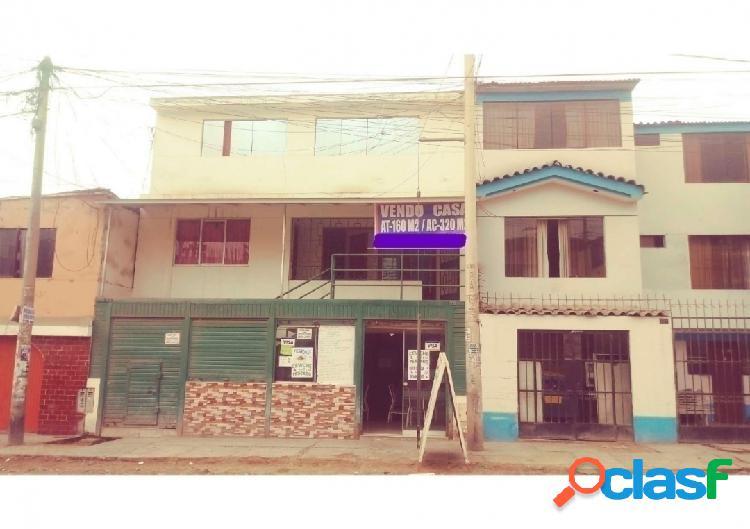 Casa comercial en venta 3 pisos 160 m2 urb san juan - sjm