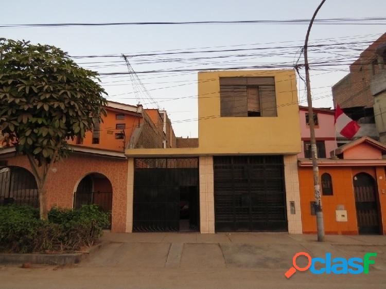 Casa terreno en venta 2 pisos 131 m2 ceres - ate