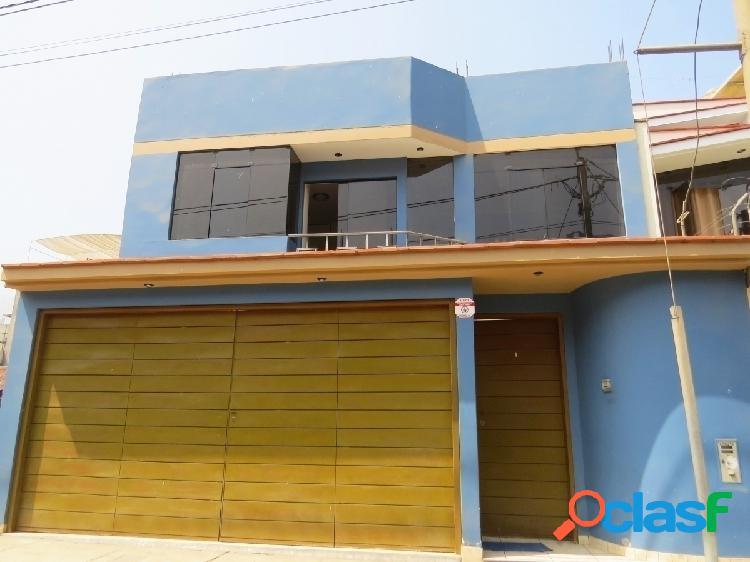 Casa en venta 2 pisos 227 m2 urb el remanso santa clara - ate