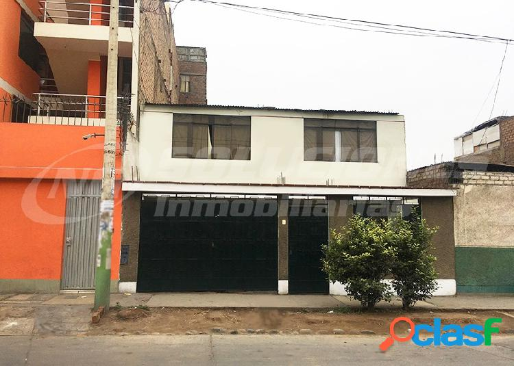 Casa terreno en venta 2 pisos 168 m2 urb santa anita - santa anita