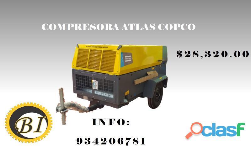 COMPRESORA ATLAS COPCO