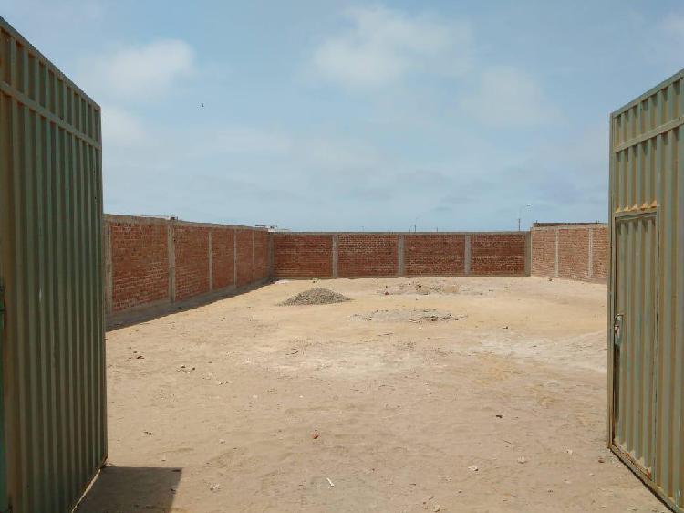 Venta de terreno urbano (parametros 5 pisos)