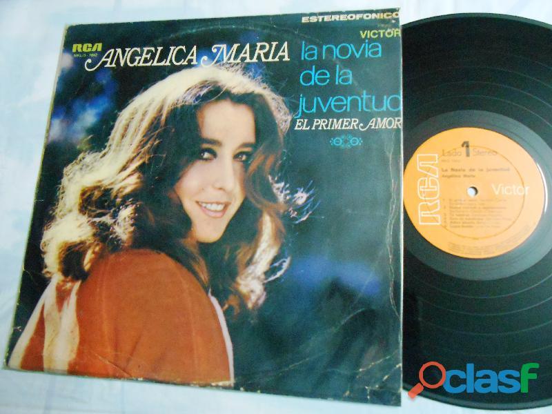 Lp angelica maria el primer amor edición Perú