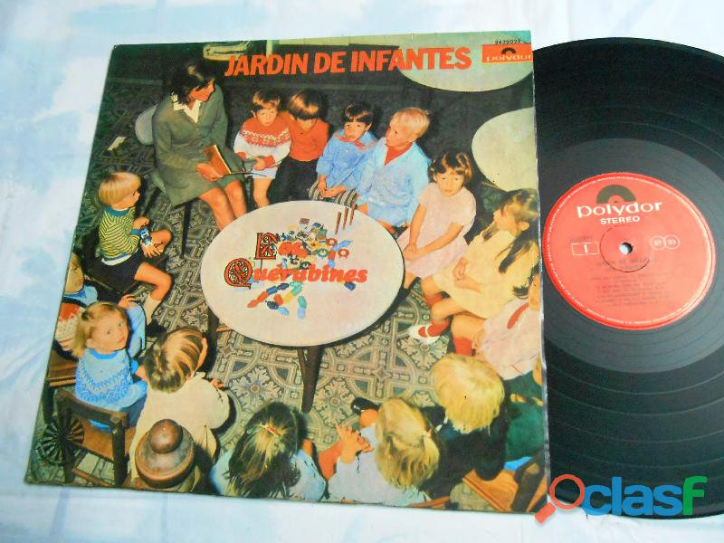 lp jardín de infantes los querubines musica para niños