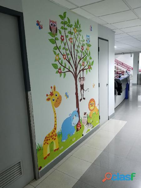 DECORACION HOSPITALES, CLINICAS PEDIATRICAS , CASA DE REPOSO 3