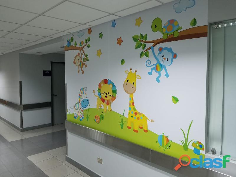 DECORACION HOSPITALES, CLINICAS PEDIATRICAS , CASA DE REPOSO 4