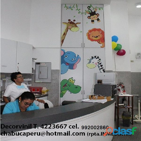 DECORACION HOSPITALES, CLINICAS PEDIATRICAS , CASA DE REPOSO 5