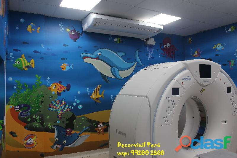 DECORACION HOSPITALES, CLINICAS PEDIATRICAS , CASA DE REPOSO 10