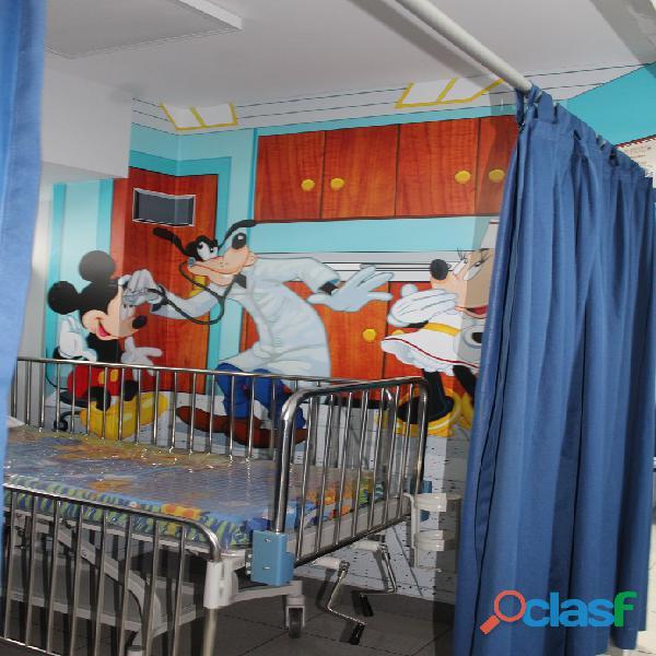DECORACION HOSPITALES, CLINICAS PEDIATRICAS , CASA DE REPOSO 15