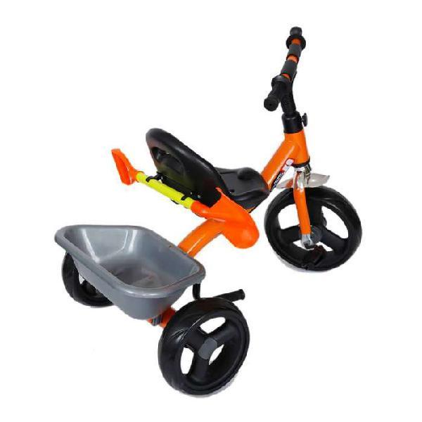 Triciclo con palita excavadora por mayor y menor