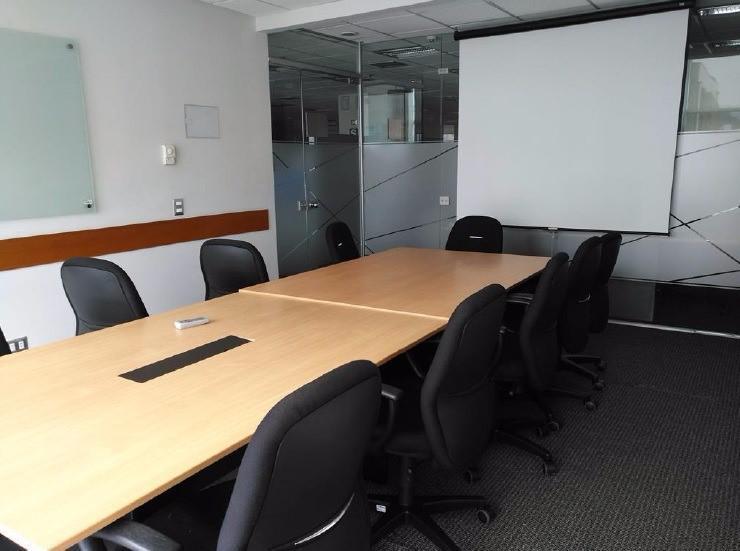 Alquiler oficina implementada en san isidro - of. 301 a