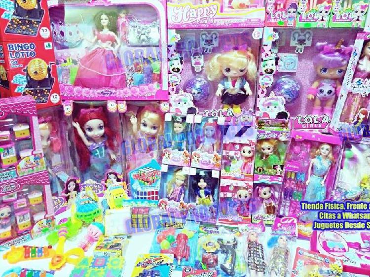 Pelotas y Juguetes Precios Economicos, Variedad juguetes