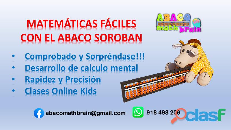 CALCULO MENTAL ABACO SOROBAN