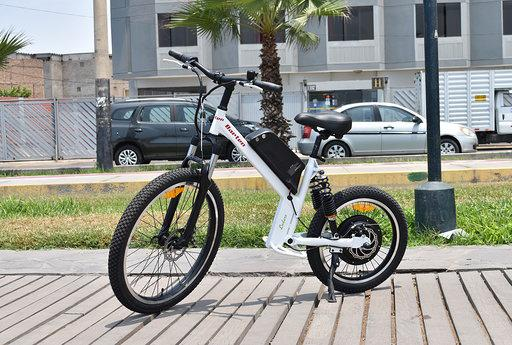 Bicicleta eléctrica, modelo enduro motor 500w brushless,