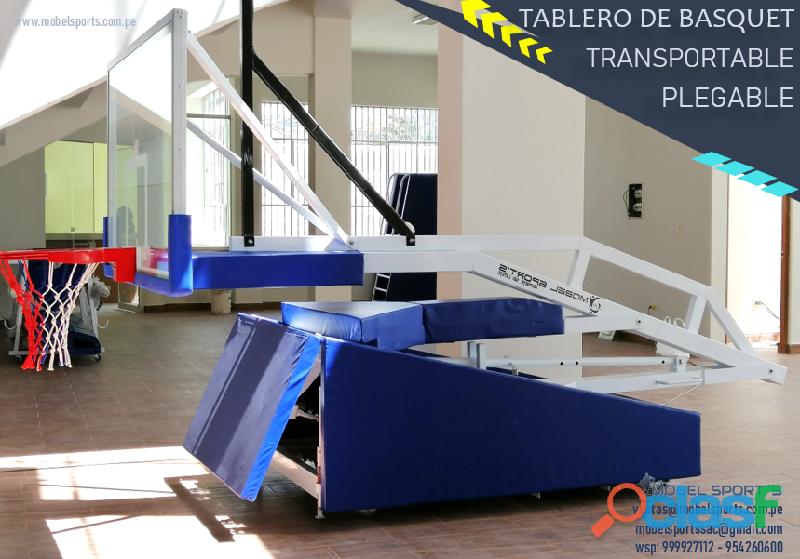TABLERO_DE _BASQUETBOL_PLEGABLE_TRANSPORTABLE_WEIGHT_MOBEL SPORTS