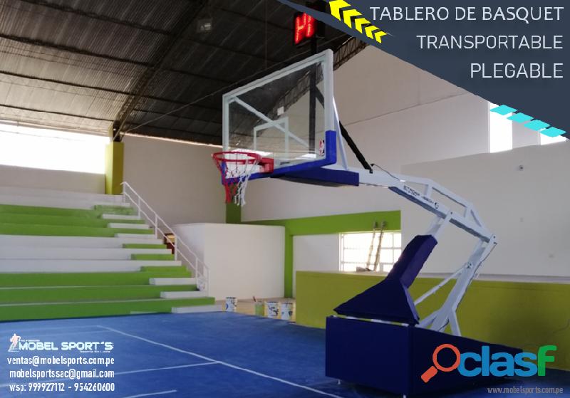 TABLERO_DE _BASQUETBOL_PLEGABLE_TRANSPORTABLE_WEIGHT_MOBEL SPORTS 3