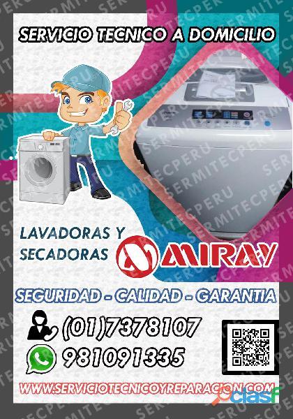 7378107 soporte técnico de lavadoras miray >> en chorrillos