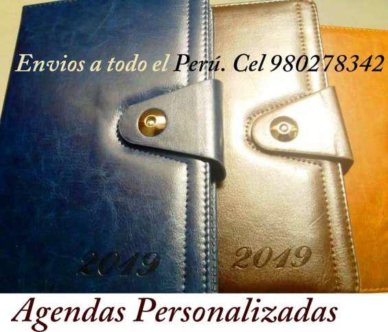 Agendas ejecutivas 2021 personalizadas, agendas