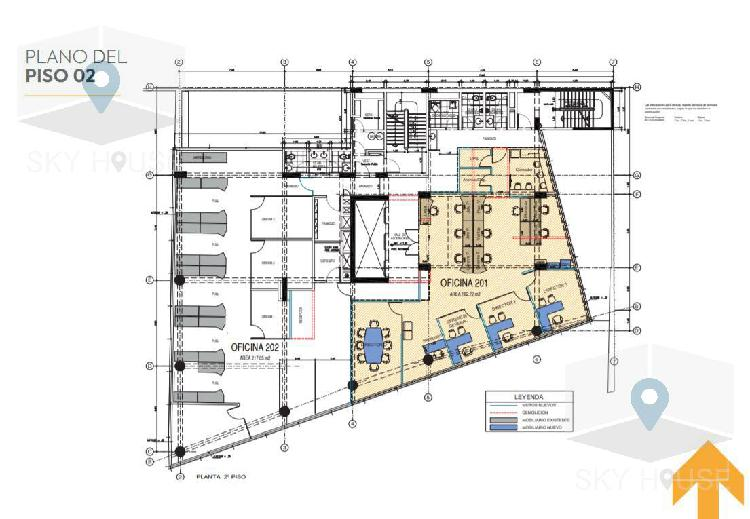 Alquiler oficinas prime san isidro empresarial desde 120m2 a