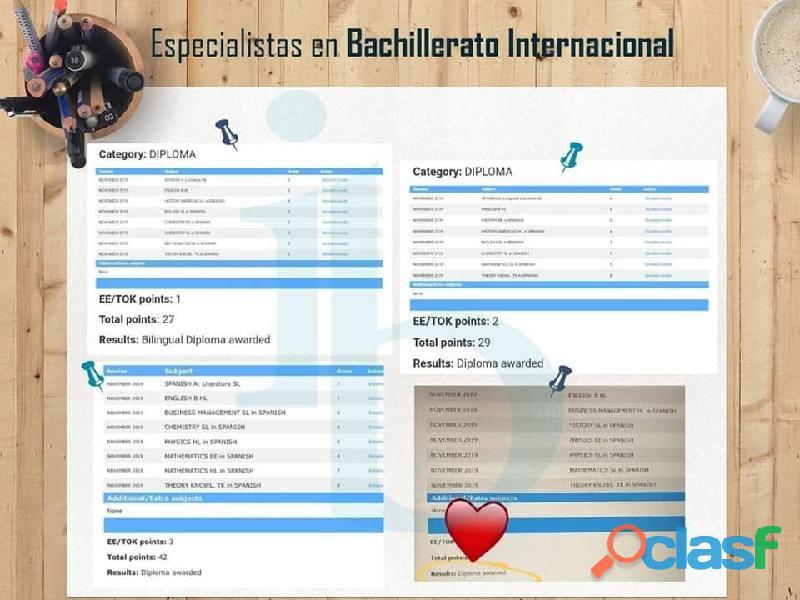 CICLO VERANO IB BACHILLERATO INTERNACIONAL 2021 9