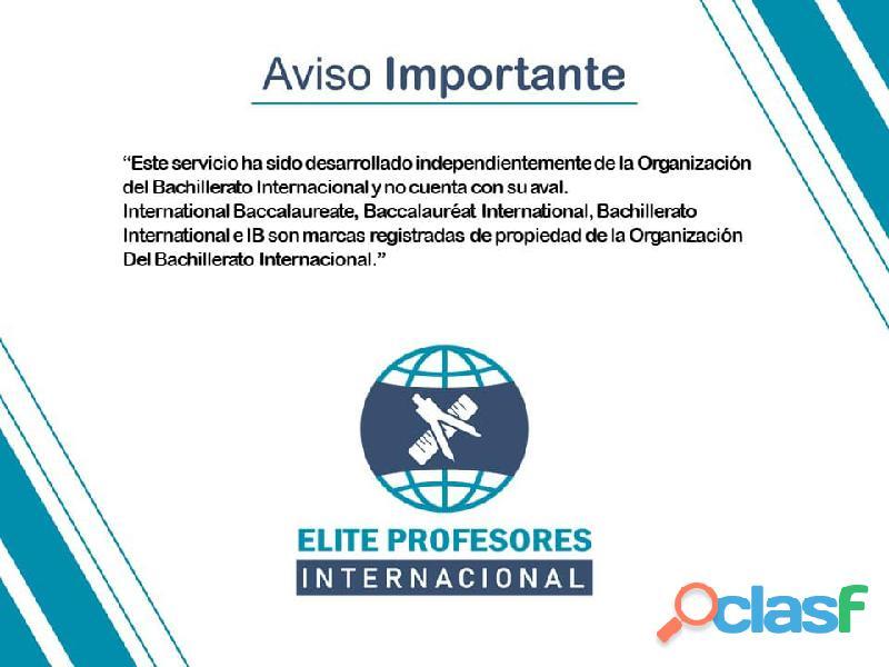CICLO VERANO IB BACHILLERATO INTERNACIONAL 2021 10