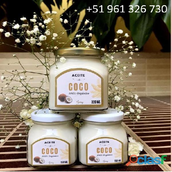 Aceite de Coco organico 150 ml