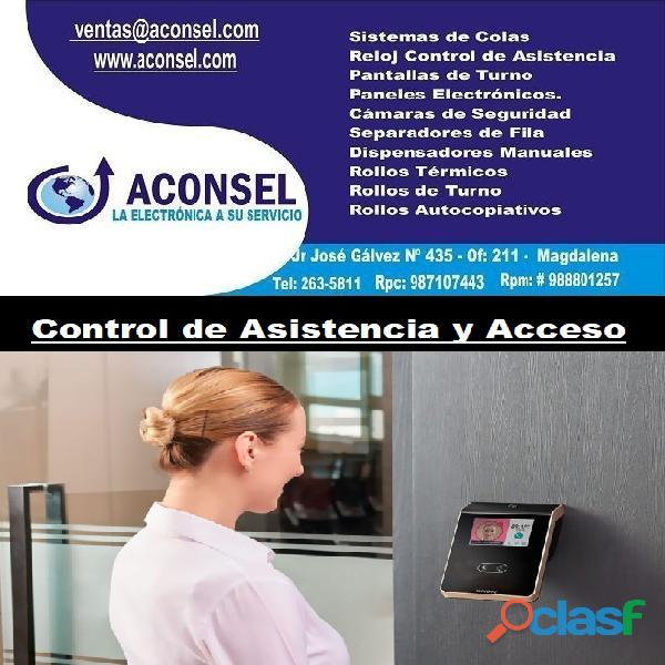 Control de asistencia y acceso