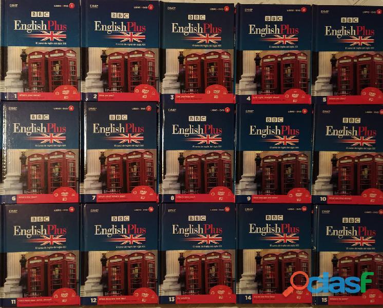Vendo colección BBC English Plus del diario el Comercio