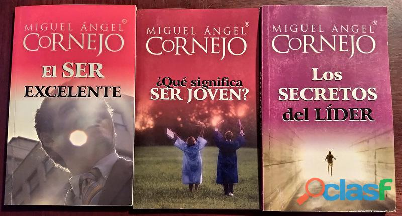 Vendo Pequeña Colección de libros de Miguel Ángel Cornejo 1
