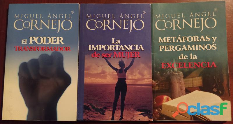 Vendo Pequeña Colección de libros de Miguel Ángel Cornejo 3